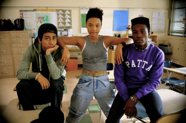 "main characters from the film ""Dope"""
