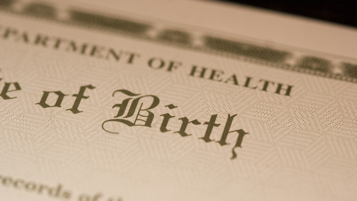 The Birth Certificate | Seven Scribes